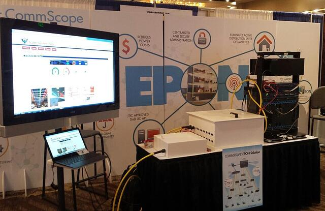 CommScope's End-to-End Secure PON & Alarmed-Armored PDS demonstration at TechNet Asia-Pacific
